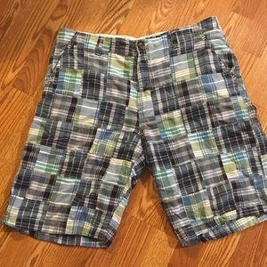 👗Gap Patchwork/Plaid Shorts